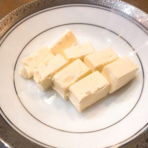 お皿チーズ